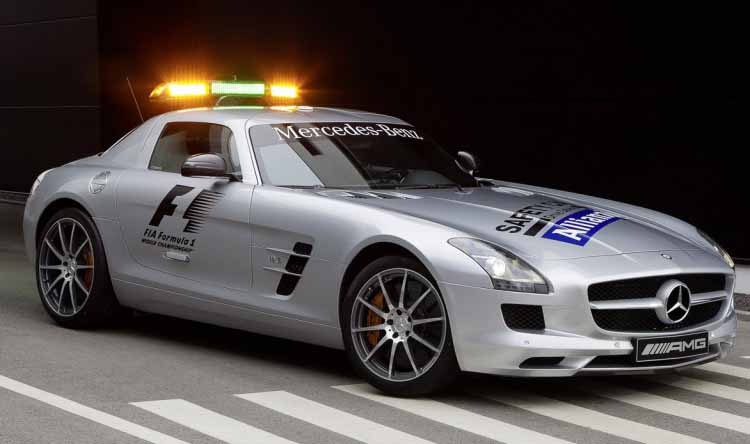 Mercedes-Benz back to F1 Safety duty with SLS AMG and C63 AMG