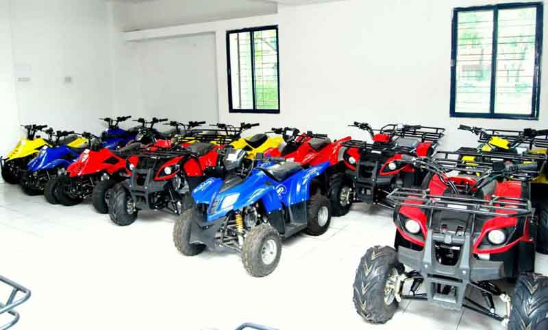 Nebula Auto brings its range of ATVs to India
