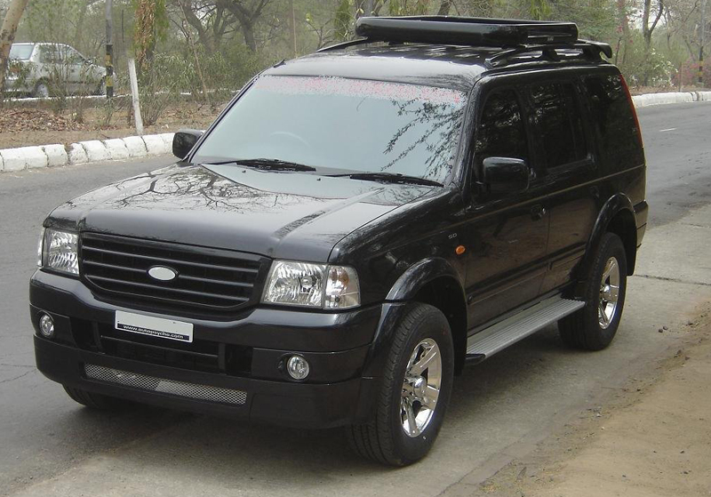 New Ford Endeavour in India