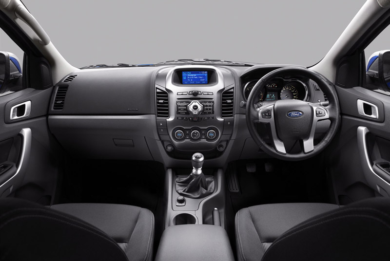 New Ford Endeavour interior