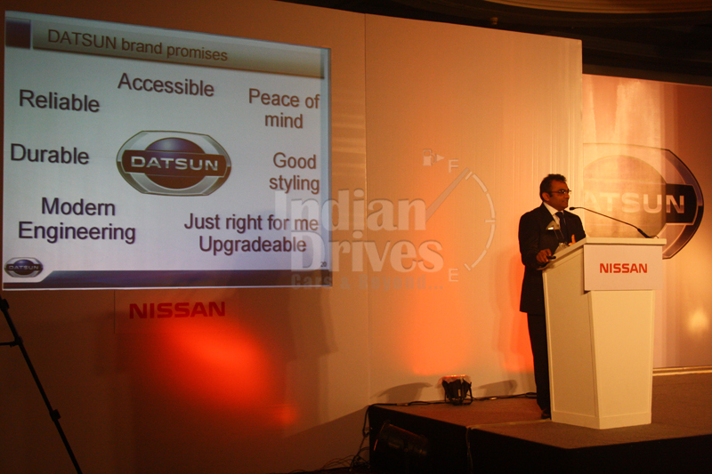 Nissan introduces Datsun for India: Official