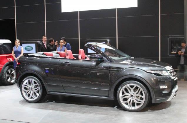 Range Rover Evoque Convertible: 2012 Geneva Motor Show