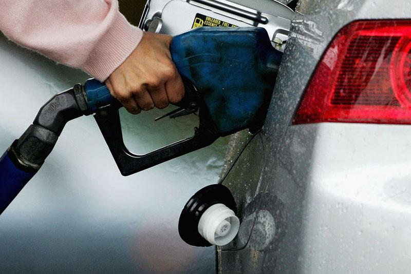 Regular fuel at times