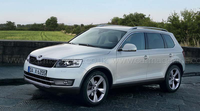 Skoda's new crossover SUV named Snowman