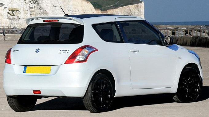 Suzuki Swift Attitude launched for UK