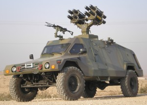 TATA Motors showcases new range of military vehicles at the Defexpo 2012
