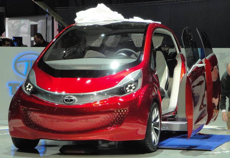 Tata Motors set to unveil the MegaPixel in Geneva