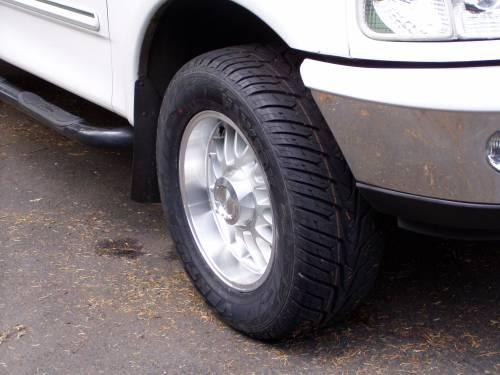 Tires in proper road condition