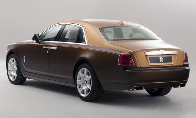 Two-Tone Rolls Royce Ghost: Geneva Motor Show