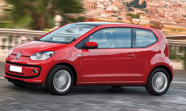 Up with Volkswagen Up! by the end of 2012