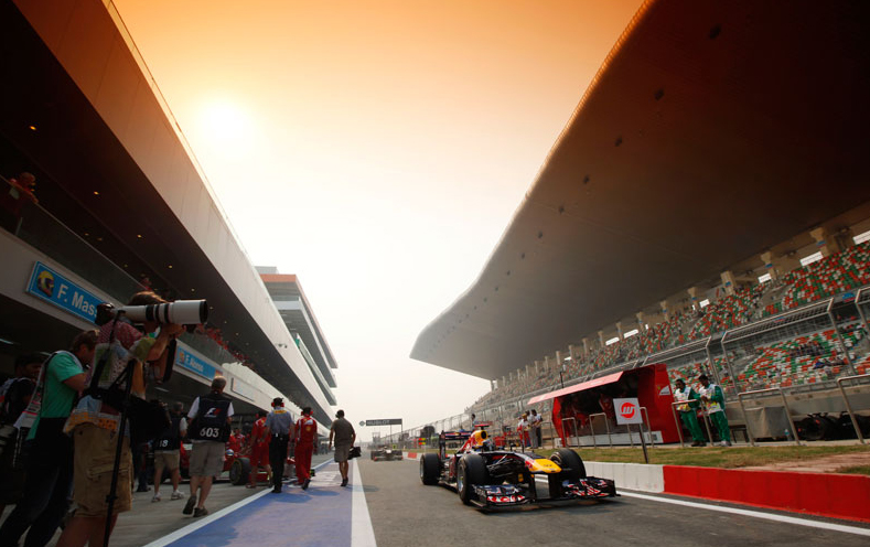 2012 F1 Indian Grand Prix tickets on sale