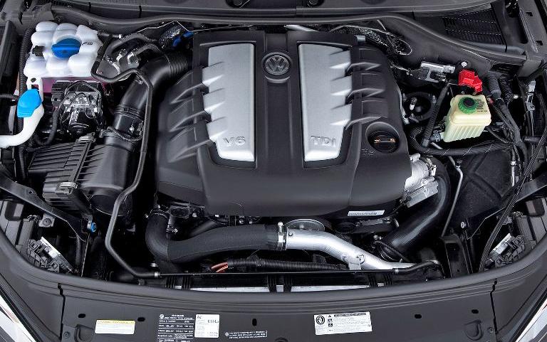 2012 Volkswagen Touareg V6 TDI engine