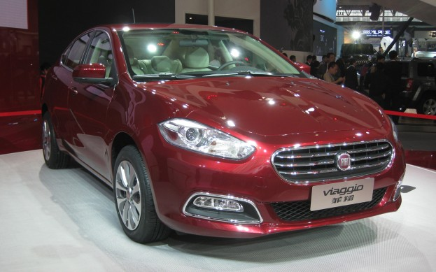 2013 Fiat Viaggio Revealed: 2012 Beijing Auto Show