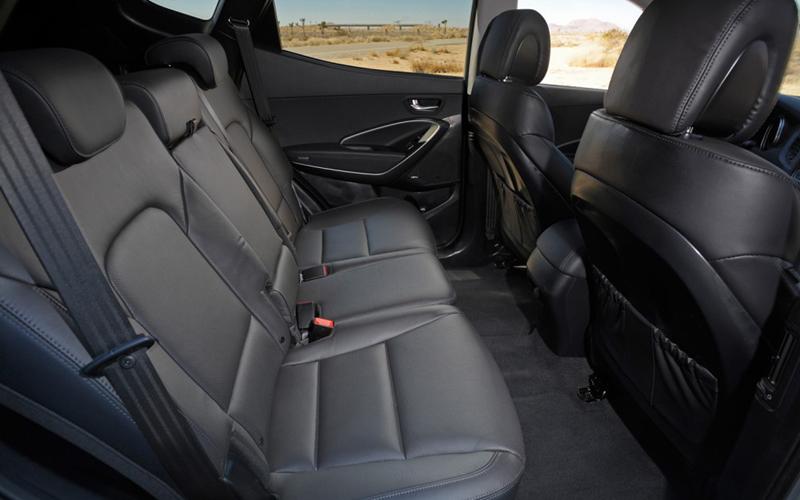2013 Hyundai Santa Fe seats