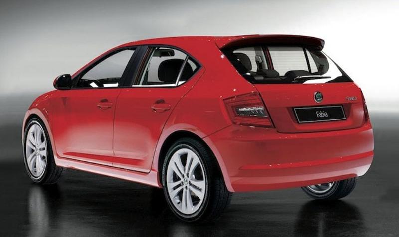2014 Skoda Fabia hatchback