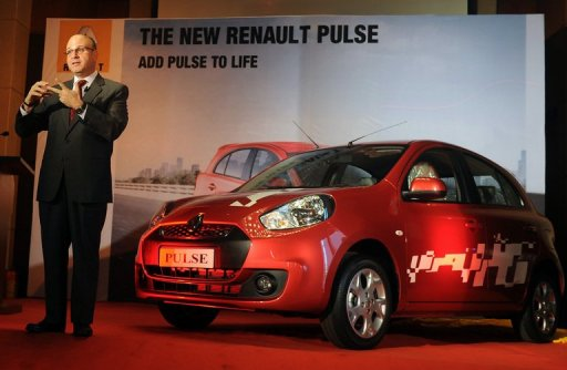 A 20-fold rise in sales is the target for Renault India this year