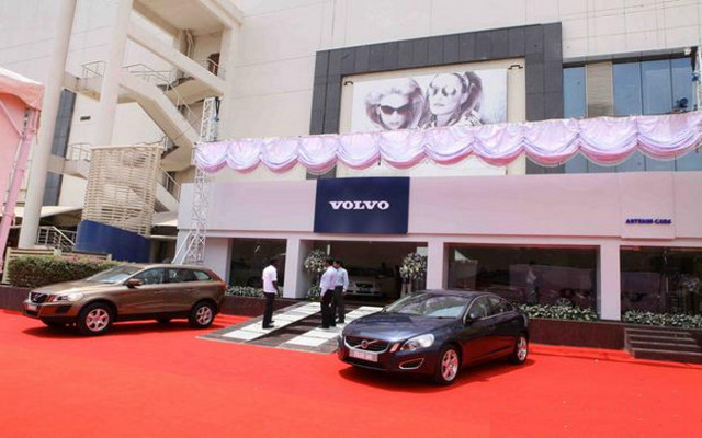 A brand new Volvo showroom opens up in Chennai