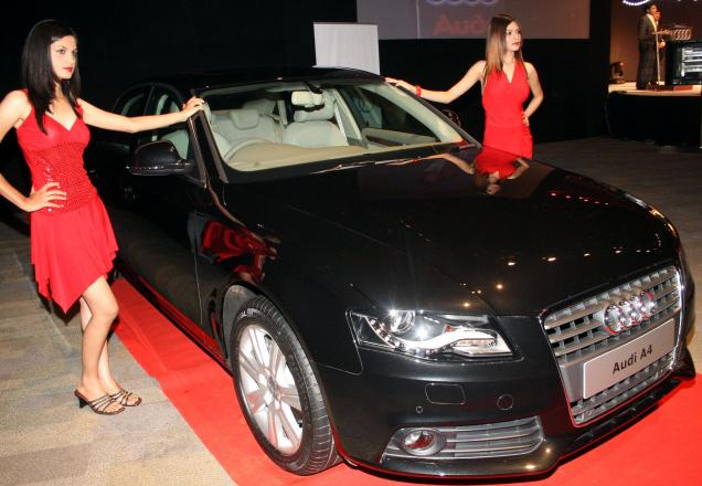 Audi surpasses Mercedes Benz in India in Q4 FY11-12