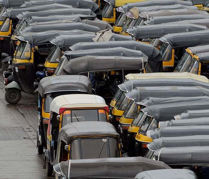 Auto rickshaw strike in maharashtra