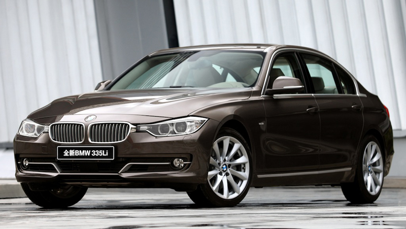 BMW 3 Series LWB: Beijing Auto Show