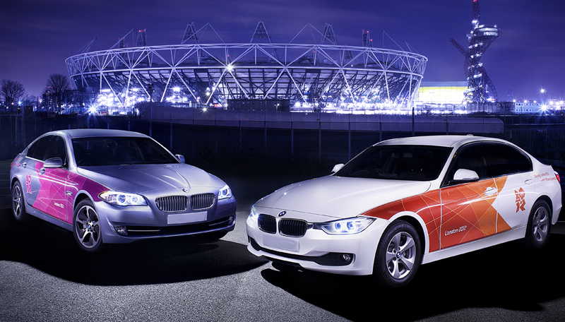 BMW unveils its 2012 London Olympic fleet