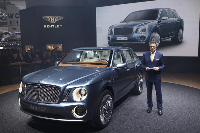 Bentley EXP 9 F SUV Drivetrain Options Revealed