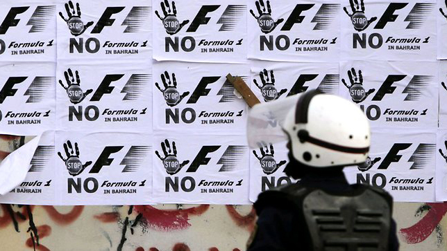 F1 faces protest before the Bahrain GP