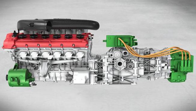 Ferrari Shows New Hybrid V12 Engine Concept