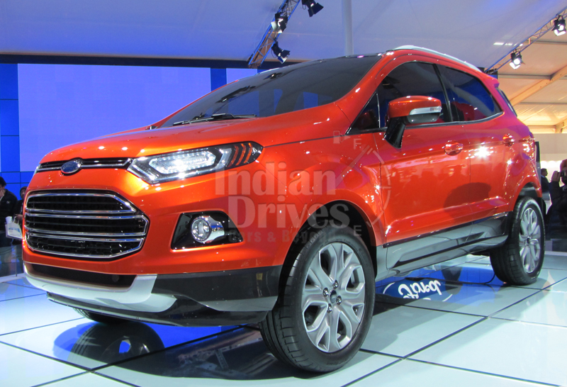 Ford EcoSport Production Version Revealed