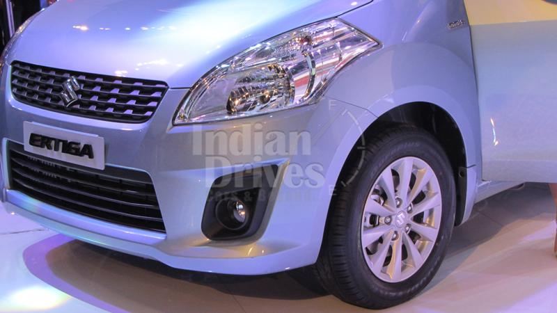Maruti Suzuki Ertiga headlight