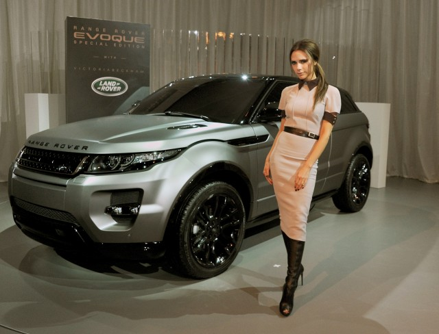 JLR launches special Evoque co-designed by Victoria Beckham