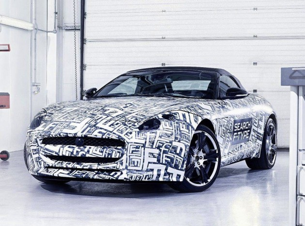Jaguar F-Type confirmed for 2013: 2012 New York Auto Show