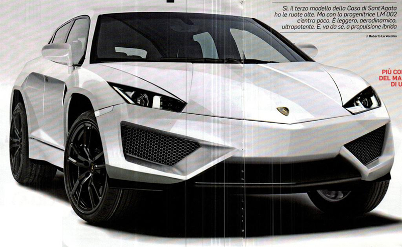 Lamborghini Trademarks 'Deimos' Name, possible badge of its SUV concept
