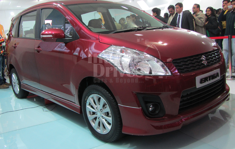 Maruti Eritga test-drive models arrive at dealerships