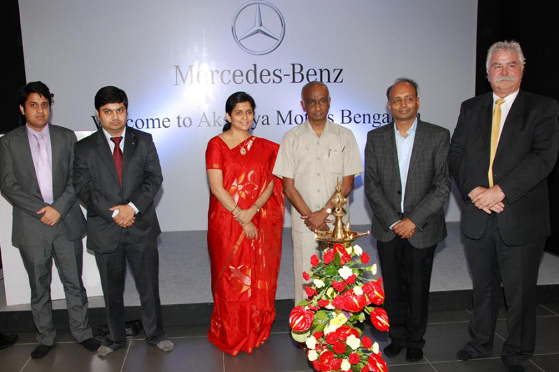 Mercedes India opens up another dealership in Bangalore