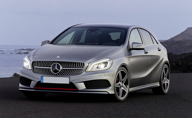 Mercedes small four-door coupe dubbed CLA : Beijing debut