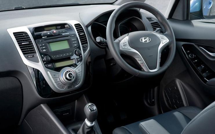 New Hyundai i20 interior