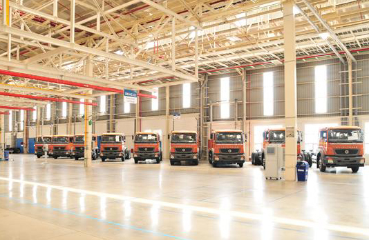 New plant of Daimler inaugurated at Oragadam