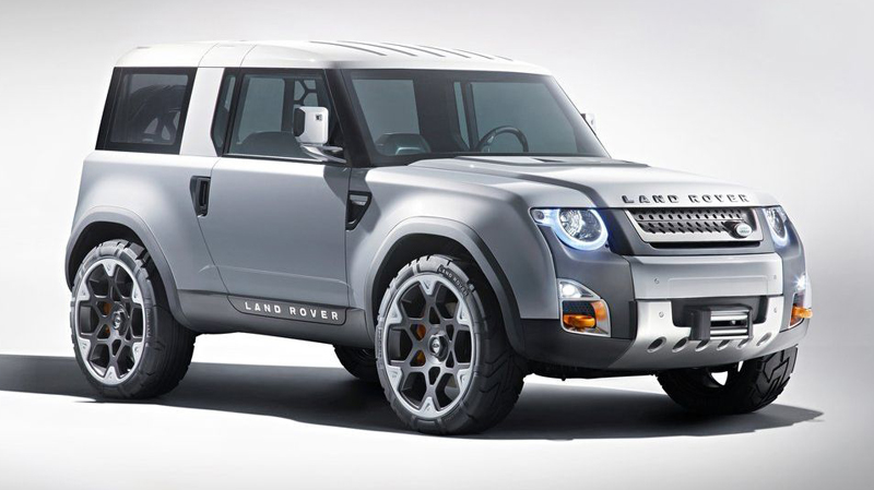 Next-gen Land Rover Defender and DC100 concept based Crossover coming in 2015