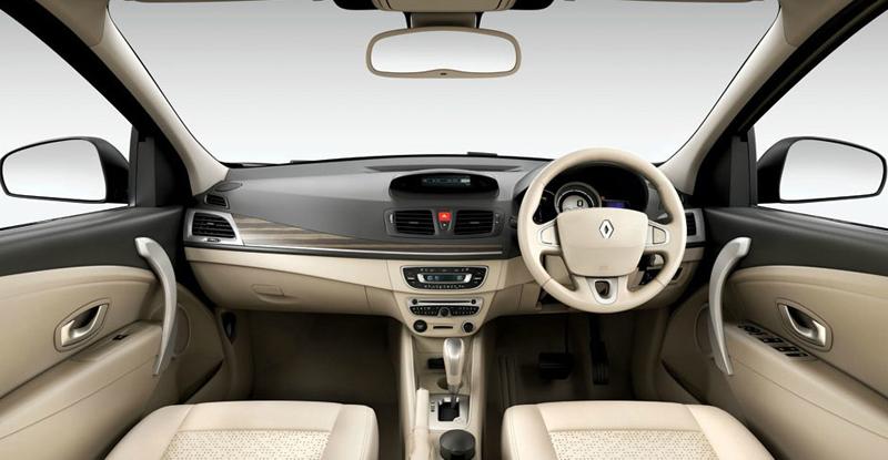 Renault Fluence E4 Diesel interior