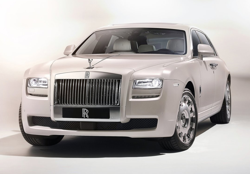 Rolls Royce Ghost Six Senses Revealed at Beijing Auto Show