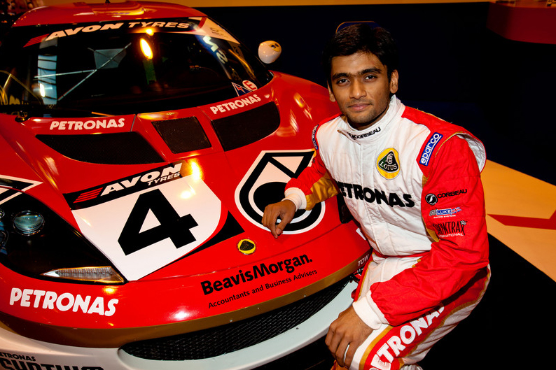 Sailesh Bolisetti qualifies fifth in his debut British GT race