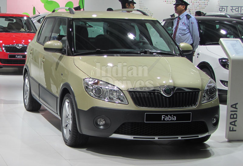 Skoda Fabia Scout launched at Rs. 6.79 Lakh