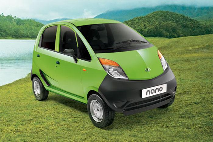 Tata Nano left hand drive