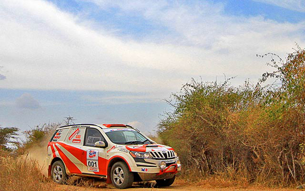 Top Positions of Dakshin Dare Rally 2012 secured by Mahindra Adventure Team