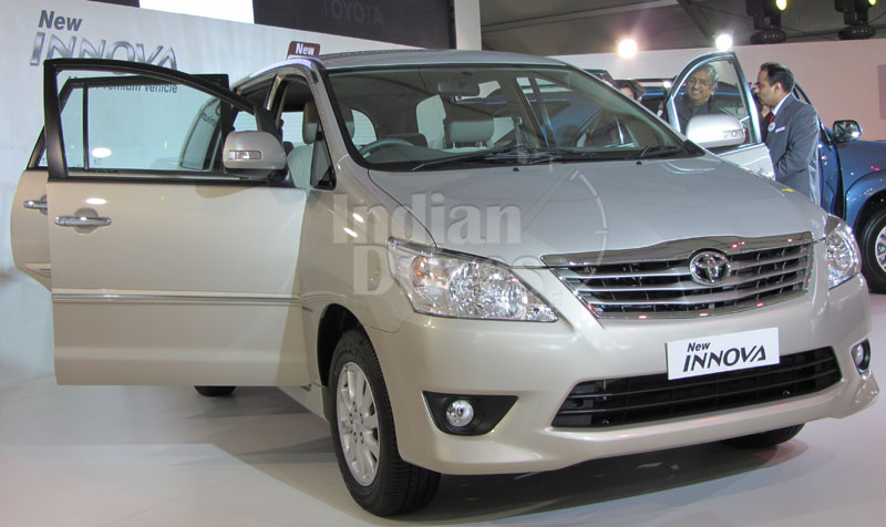Toyota Innova in India