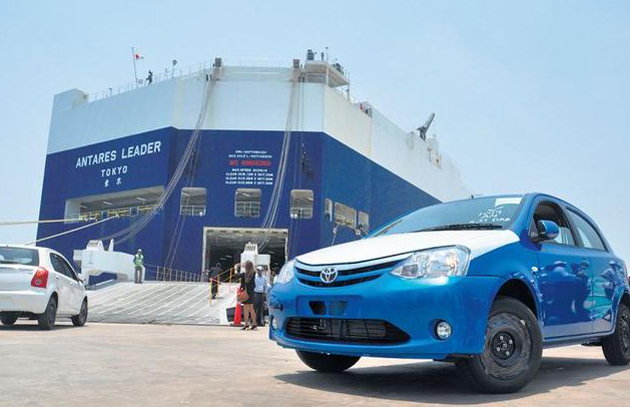 Toyota Kirloskar begins export of Etios Series to South Africa
