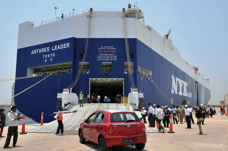 Toyota Kirloskar begins export of Etios Series to South Africa