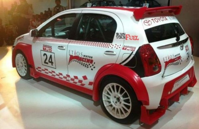 Waku Doki at the Nippon Toyota in Cochin to popularize the ETIOS Motor Racing