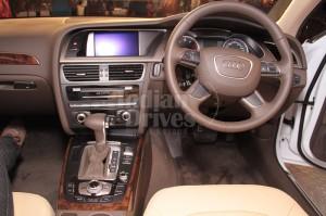 2012 Audi A4 in India interior